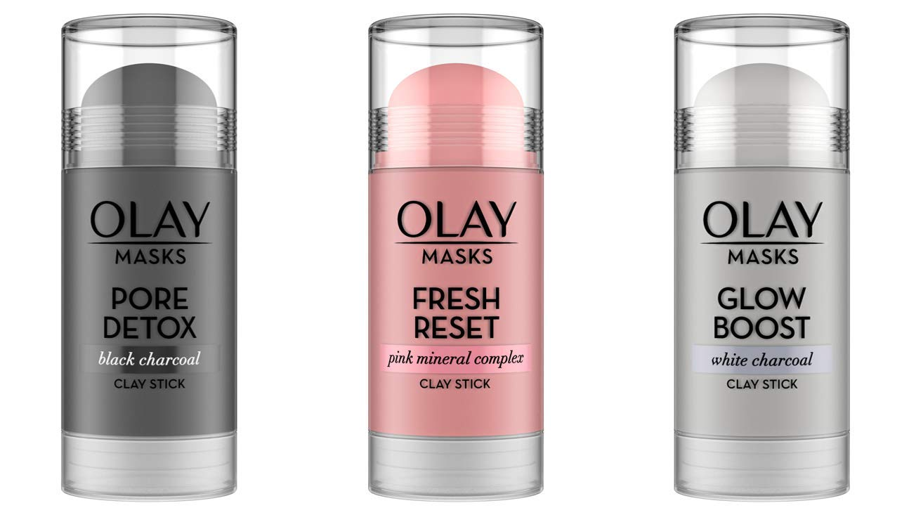 Olay Clay Stick Masks review