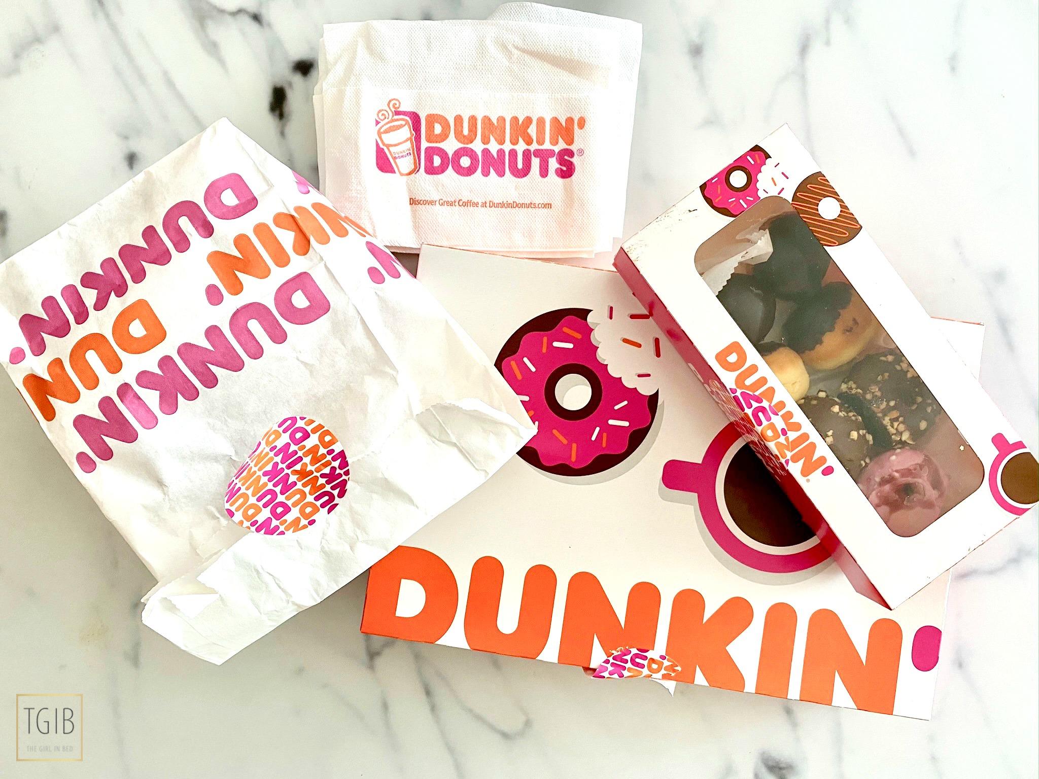 eerste indruk van Dunkin Delivery