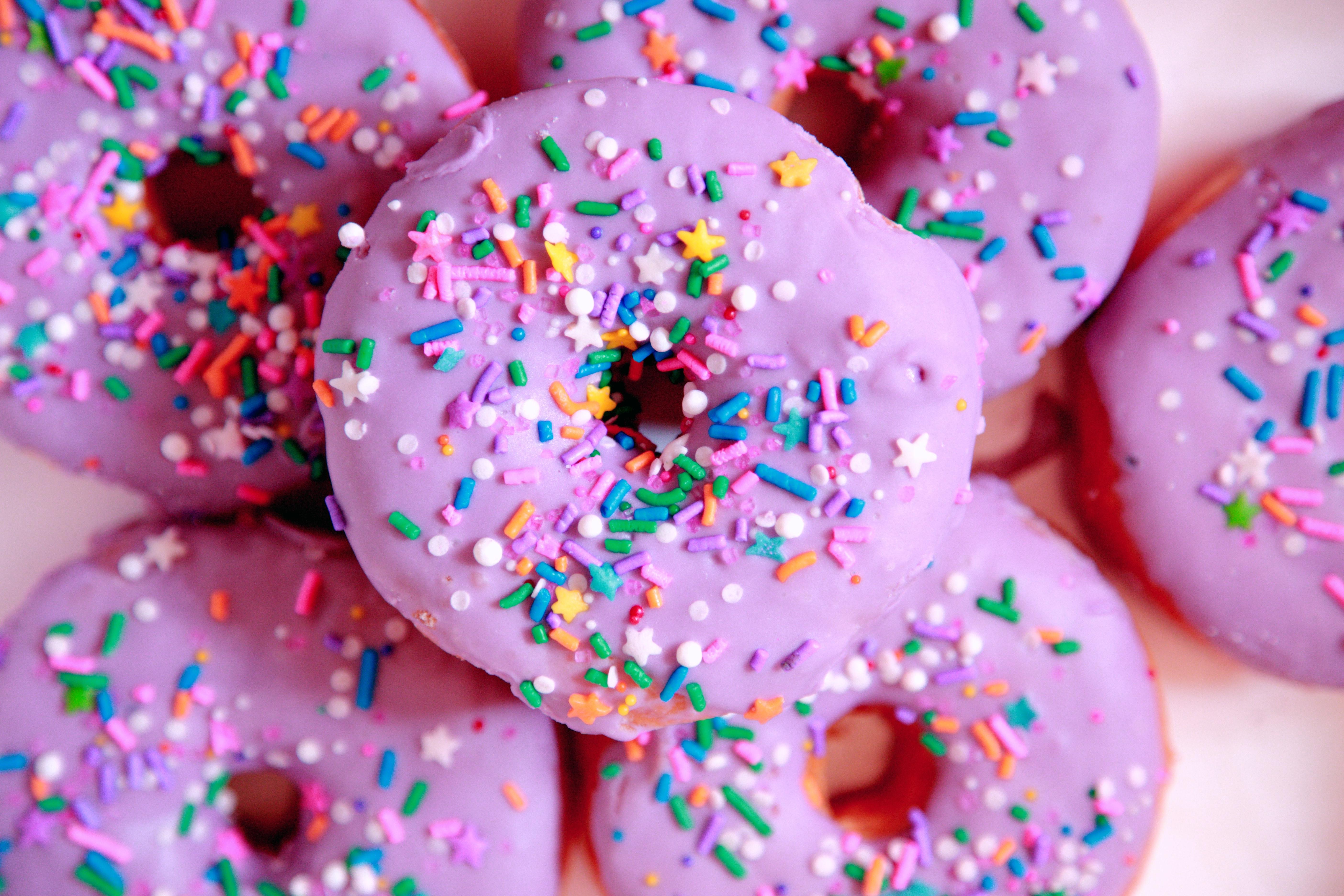 purple donuts dunkin donuts