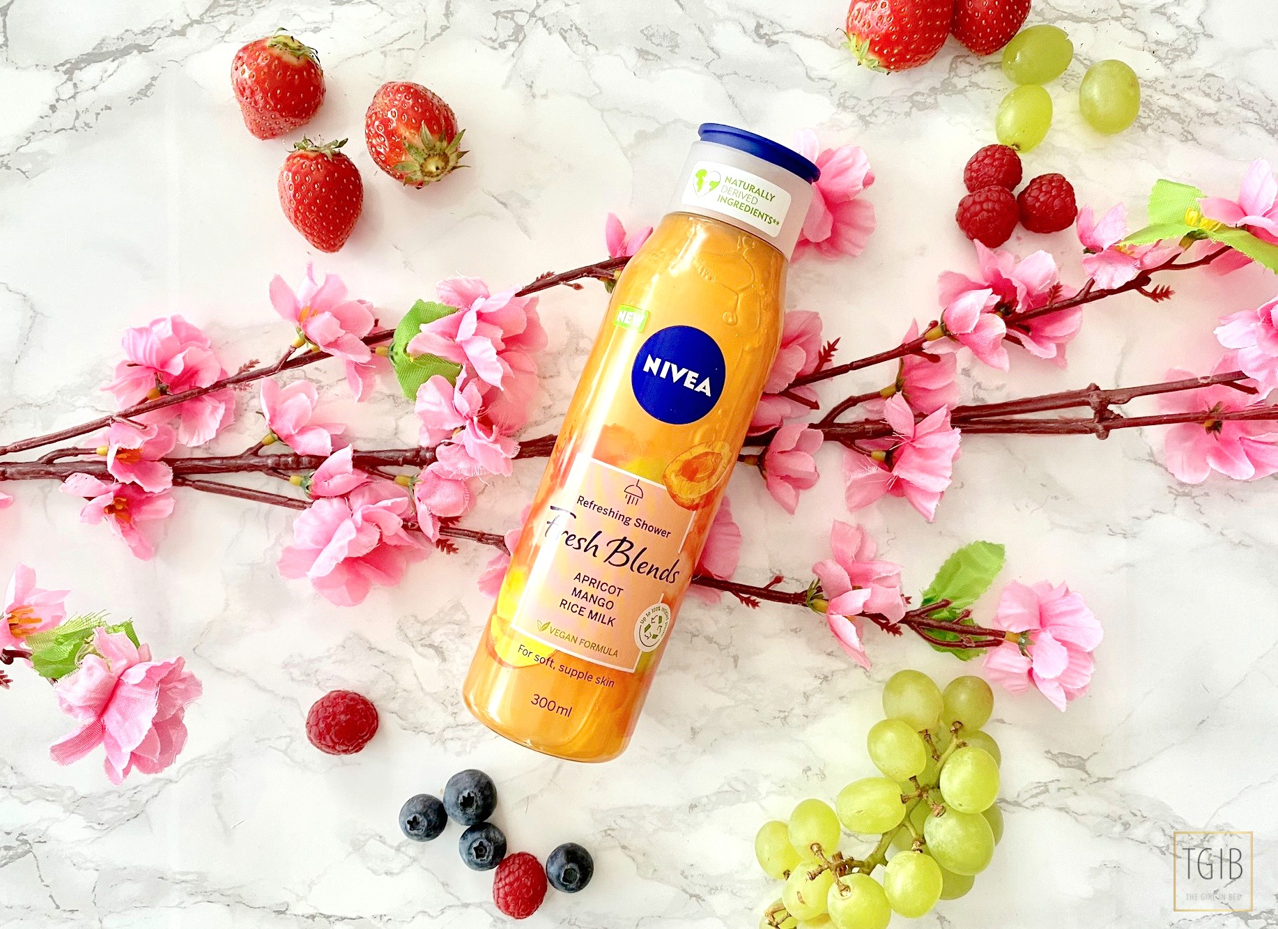 Nivea Fresh Blends Apricot Mango & Rice Milk