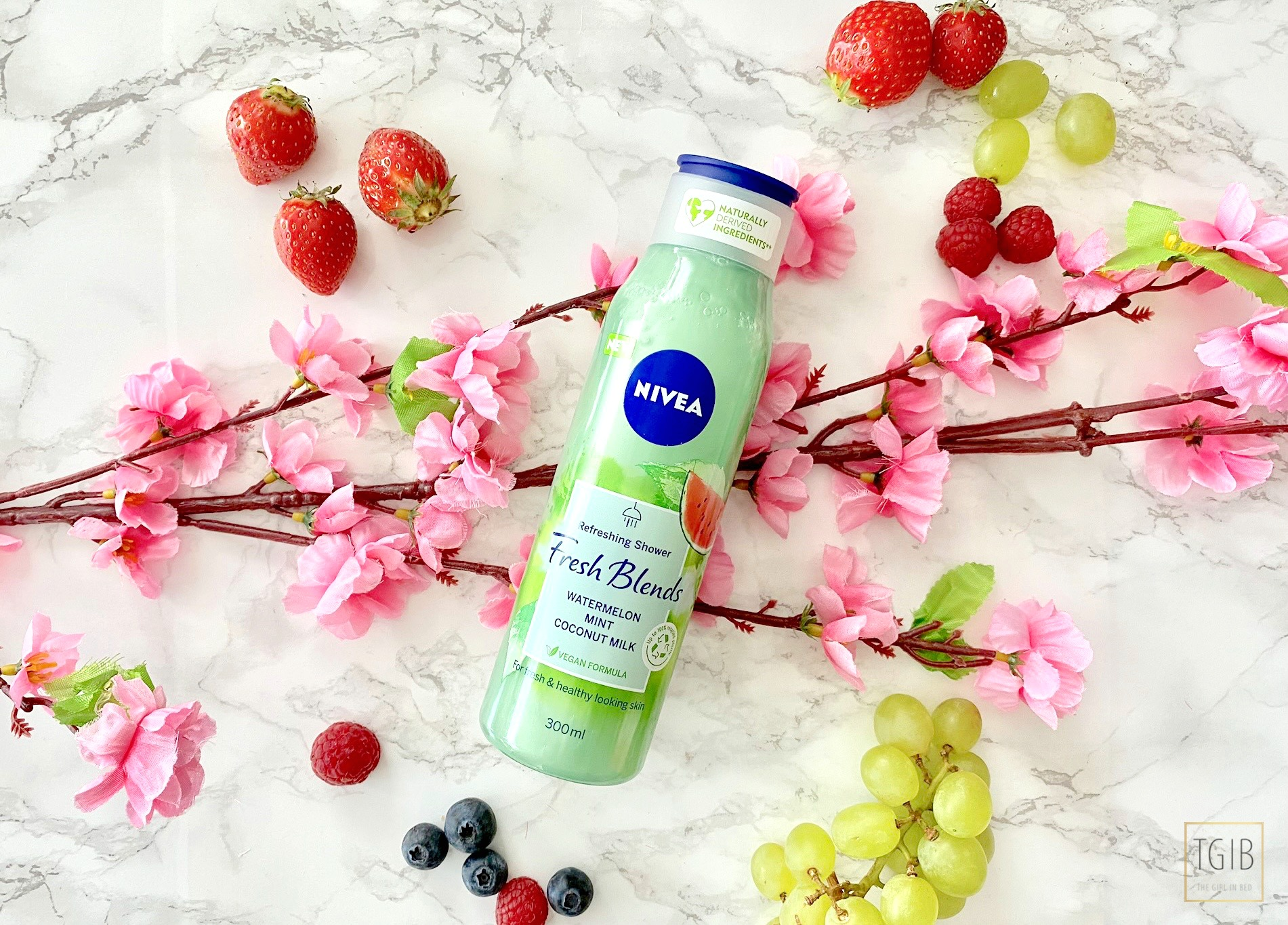 nivea Fresh Blends Watermelon, Mint & Coconut Milk