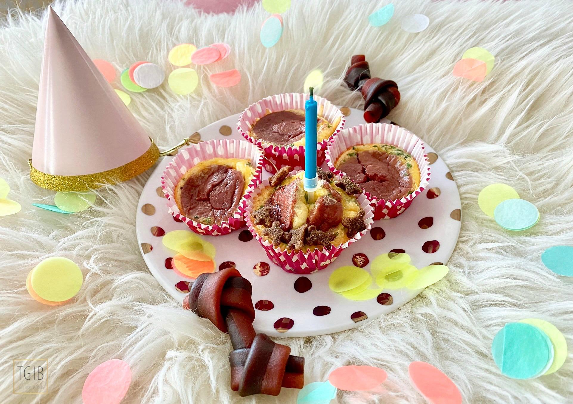 Super Makkelijke Pupcakes hondencupcakes confetti