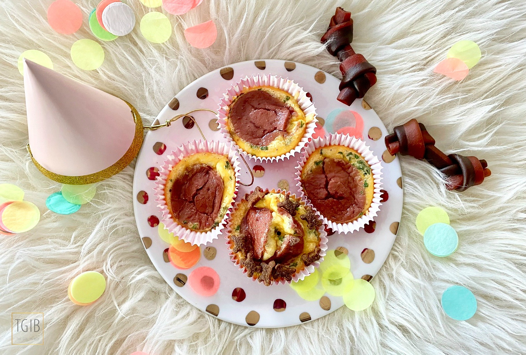 Super Makkelijke Pupcakes hondencupcake ei muffin