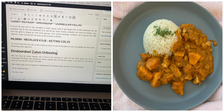 TGIB WEEKLY Snack-O-Clock En Een Mini Break curry massaman
