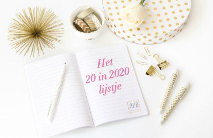 het 20 in 2020 lijstje