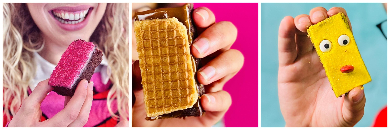 Dear Brownie Review Smaken pink, stroopwafel, bob