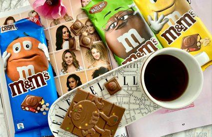 M&M's chocoladerepen review crispy peanut hazelnut