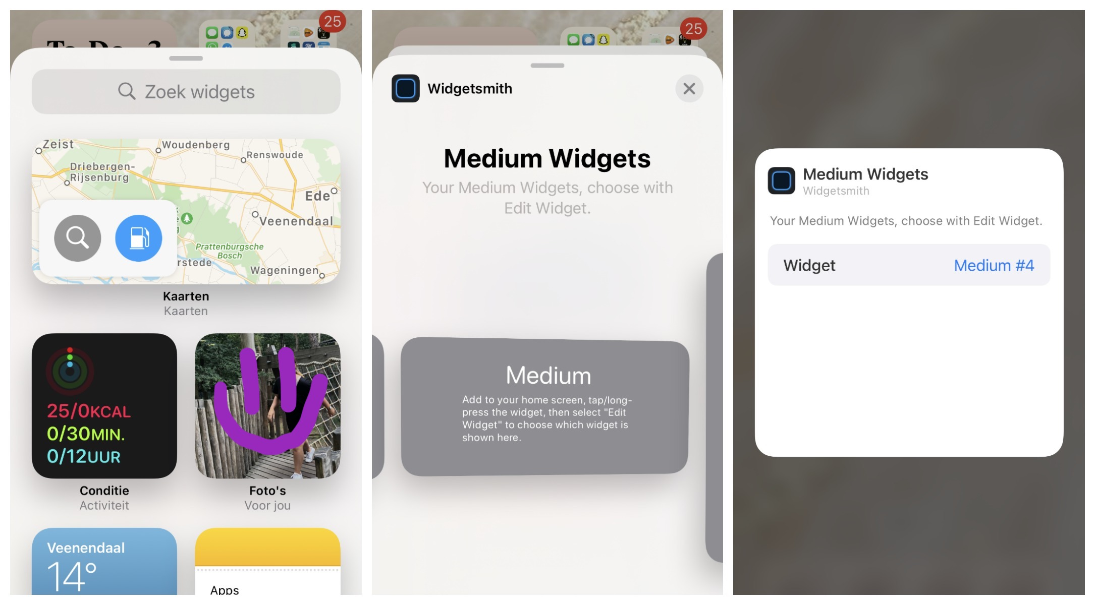 iPhone personaliseren met iOS14 widgetsmith