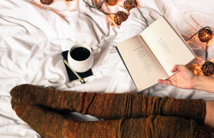 bed flatlay