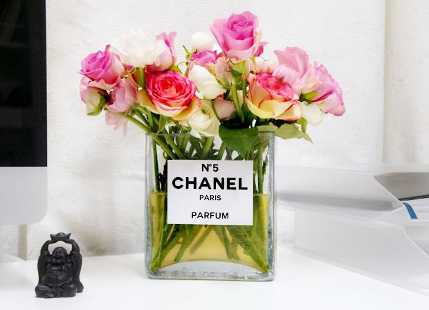 4x Chanel in je interieur vaas beautylab